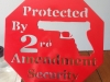 Second Amendment Security Red